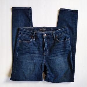 Lucky Brand Hayden Skinny jeans sz 6 28 dark wash